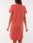 MARY TEXTURED TEE DRESS